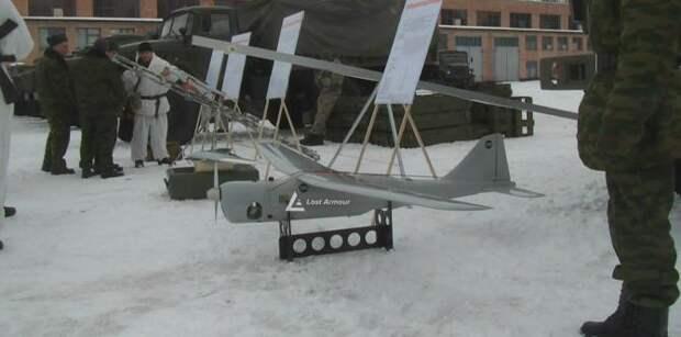 БЛА «Орлан-10», «Тахион» и «Элерон» на базе 2-го армейского корпуса в Луганске