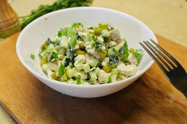Весенний салат на раз-два. Это блюдо никогда не надоест 2