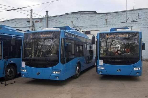 Строительство троллейбусной линии на КСК будет стоить почти 9 млрд руб.
