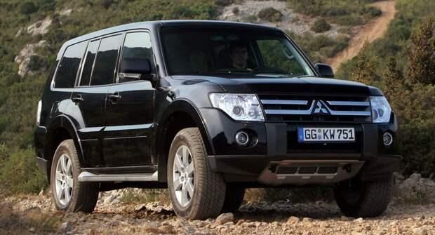 Mitsubishi попрощалась с внедорожником Pajero