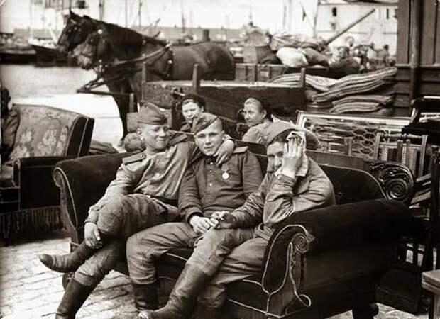 Десант советских войск на остров Борнхольм 9 мая 1945 г.