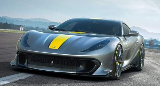 Компания Ferrari продала весь тираж 812 Competizione за несколько часов