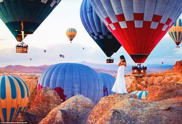 Над Турцией на воздушном шаре: невероятная Каппадокия