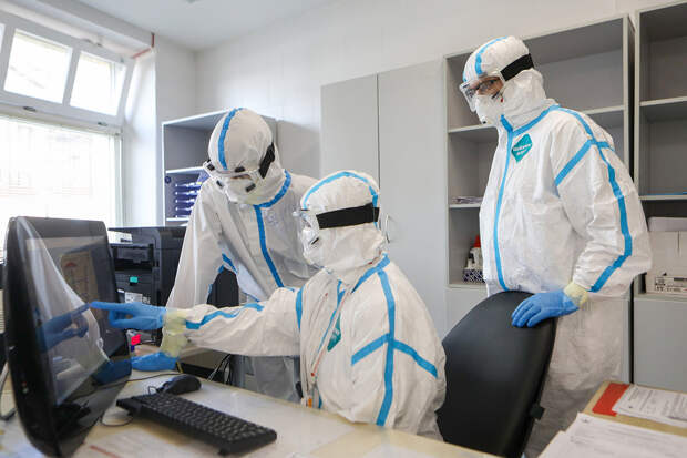 В России за сутки выявлено 12 604 новых случая коронавируса