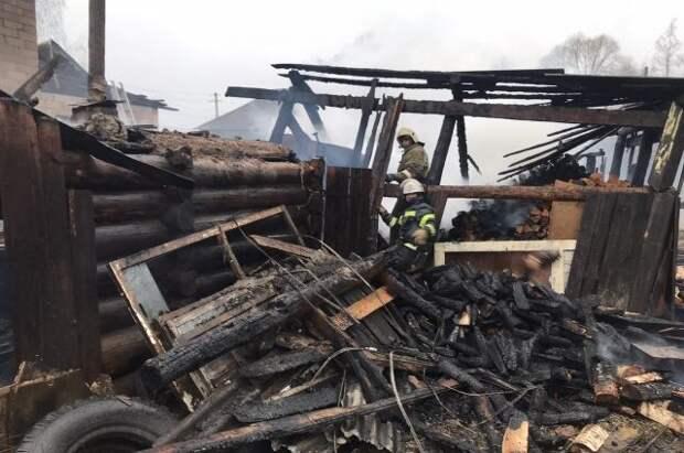 В Пермском крае жертвами пожара в жилом доме стали восемь человек - СМИ