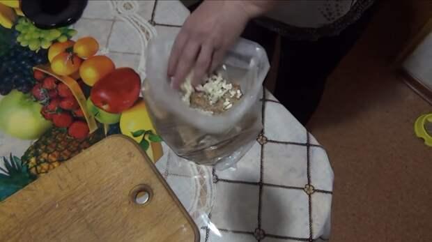 Невероятно простой и очень вкусный рецепт сала в пакете