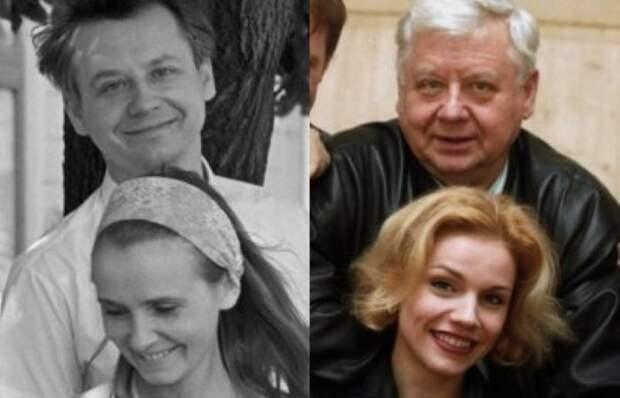 Олег Табаков и Людмила Крылова/Олег Табаков и Марина Зудина