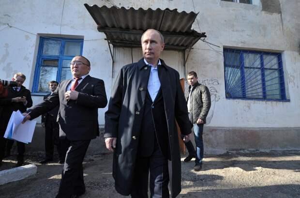 Николай Травкин. Деликатный Путин и жилье народа