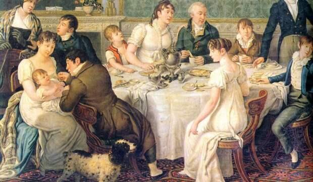 Дворянская семья XIX века: как дети общались с родителями
