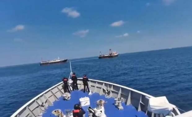 «Не отойдём ни на дюйм»: президент Филиппин отклонил призыв Китая отвести корабли от спорных островов