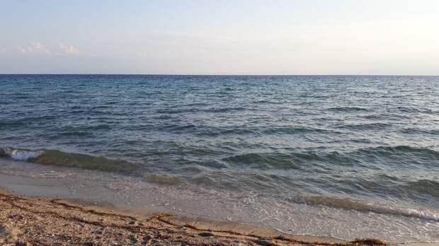 Греция (Халкидики) летом (июль).