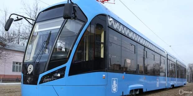 Трамваи №10, 21 и 28к задерживаются в районе Новощукинской