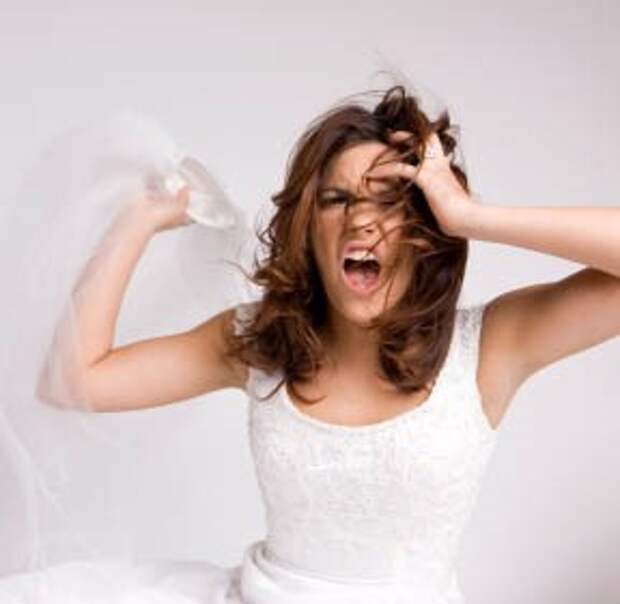 Как выглядит кошмар на свадьбе? (фото)