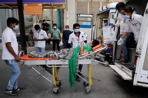 Индия установила мировой антирекорд по числу заражений COVID-19 за сутки