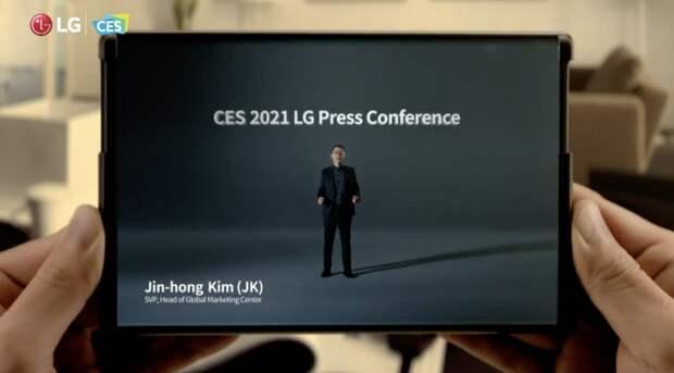 Мобильный переворот от LG