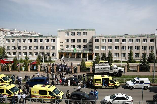 Власти Татарстана готовят список работников школы в Казани, проявивших героизм при стрельбе