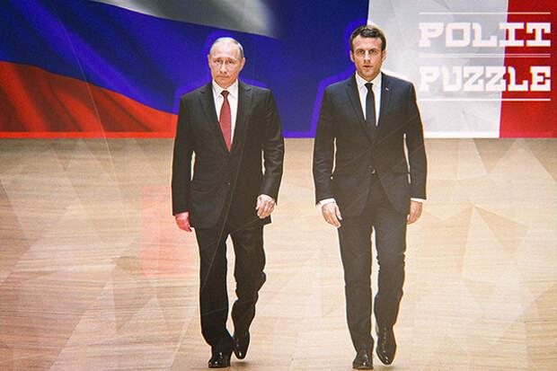 """Украинские политики недовольны словами Макрона о """"глубоко европейской России"""""""