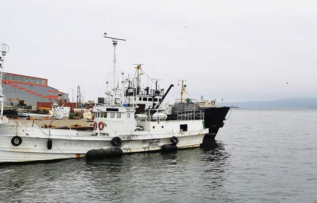 Курильские рыбаки, как правило, выходят на промысел в море на стареньких японских и тайваньских шхунах, конфискованных у браконьеров и выставленных на продажу.