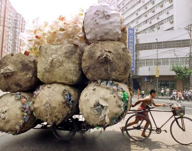 Небольшая подборка перегруженных транспортных средств