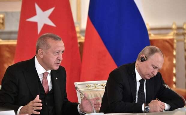 """""""Стратегия"""" Турции и """"бездействие"""" России"""