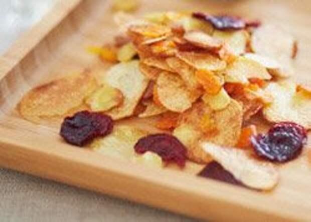 Вкусные постные блюда: домашние чипсы  — Рецепты Джейми Оливера