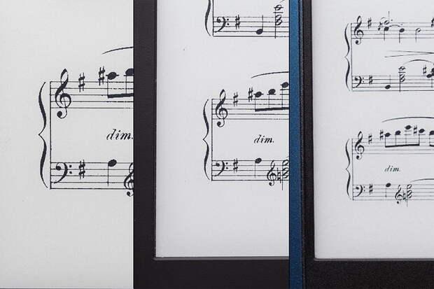 Какая электронная книга подойдет музыканту
