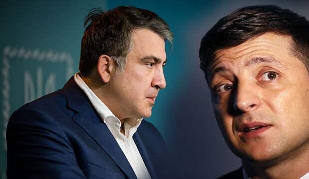 «Битва за Саакашвили»: Зеленский не в себе