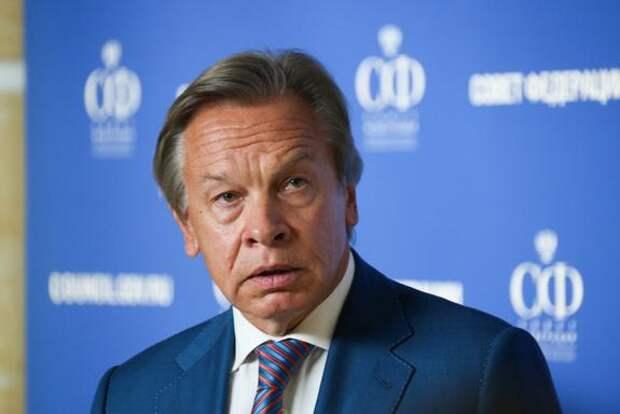 Пушков предположил, для чего Зеленскому нужны переговоры с Путиным