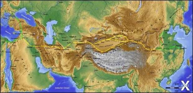 Великий Шелковый Путь: как в Древнем Мире создали глобальный проект Человечества