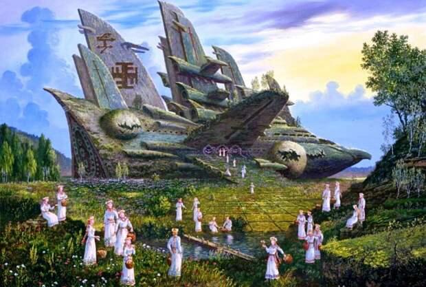 Гиперборея после «войны богов» по В. Иванову