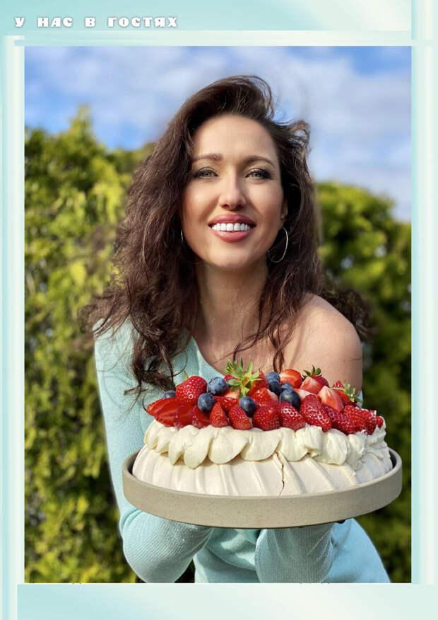 Елена Грицук рассказала, как готовит свой любимый торт