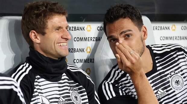 Мюллер и Хуммельс выйдут в стартовом составе Германии на товарищеский матч с Данией
