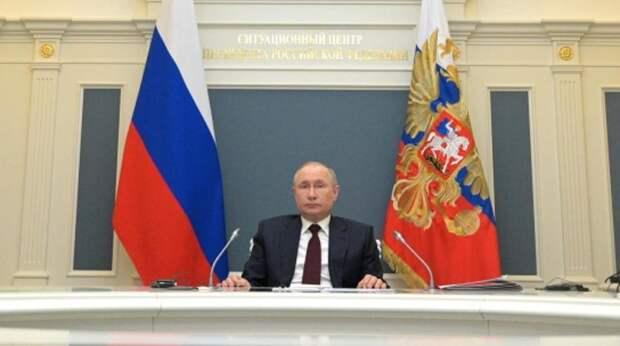 Путин сравнил российские вакцины с автоматом Калашникова