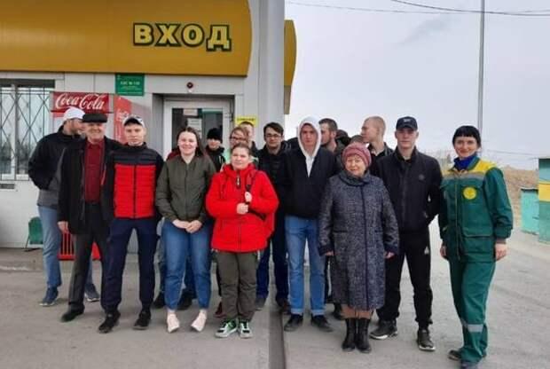 На филиале «Западный» АО «Красноярскнефтепродукт» прошла экскурсия для студентов