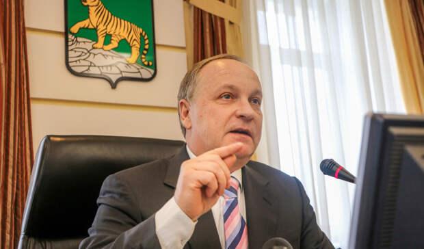 Уроки критики сверху: мэр Владивостока подал в отставку
