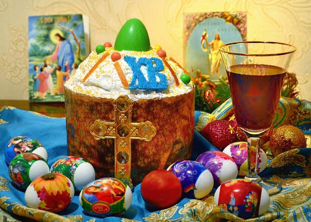 Со светлой Пасхой!  Христос Воскресе!