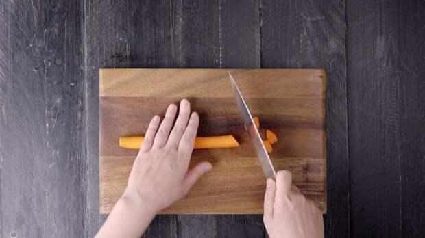 Как правильно резать овощи: 5 советов от поваров-профессионалов