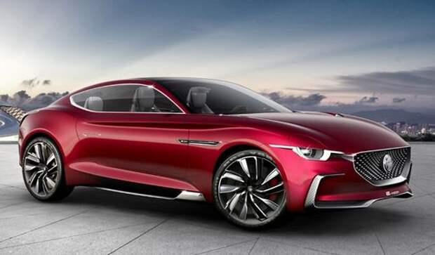 Реабилитация имени: в Китае представлено купе MG E-Motion