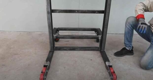 Электрический подъемник своими руками (максимальная грузоподъемность — до 200 кг)