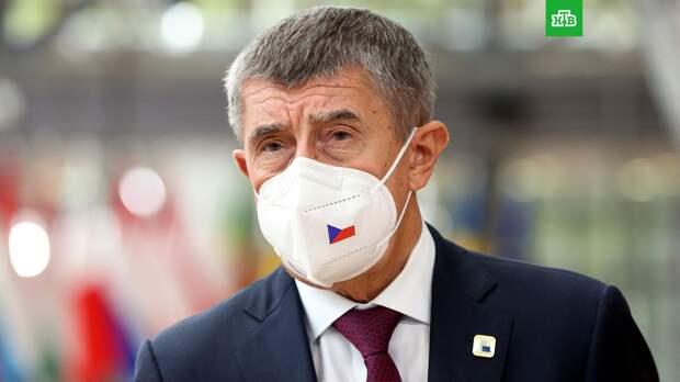 Премьер Чехии не считает взрыв в 2014 году нападением на страну