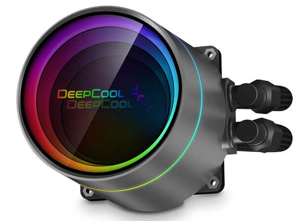 Deepcool снабдила СЖО Castle 360EX A-RGB защитой от протечек и эффектной подсветкой