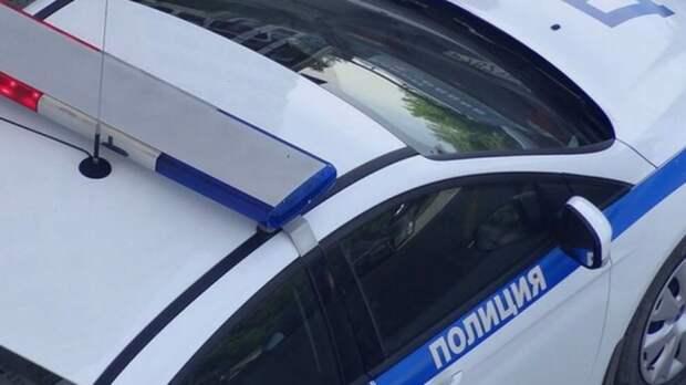 На севере Петербурга иномарка врезалась в светофор