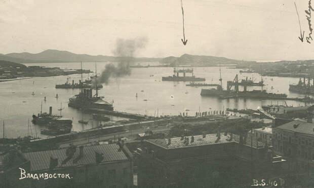 Вид на акваторию Золотого Рога