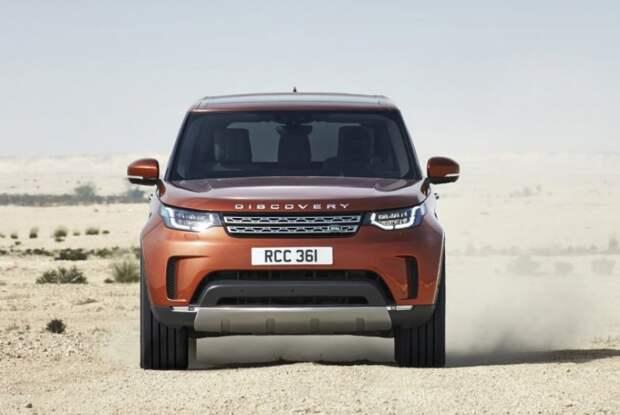 Пользователи Сети оценили видео нового поколения Land Rover Discovery