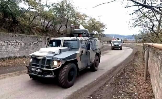 Армянская сторона подставляет российских миротворцев в Нагорном Карабахе