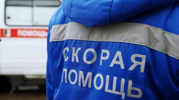В Крыму скорая с пациентом лоб в лоб столкнулась с легковушкой и перевернулась
