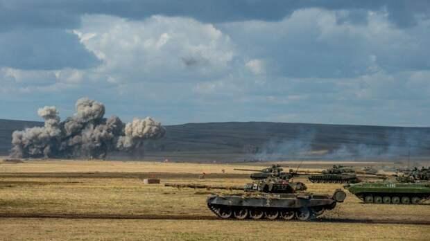 Танкисты ЗВО успешно прошли контрольную проверку боевой готовности