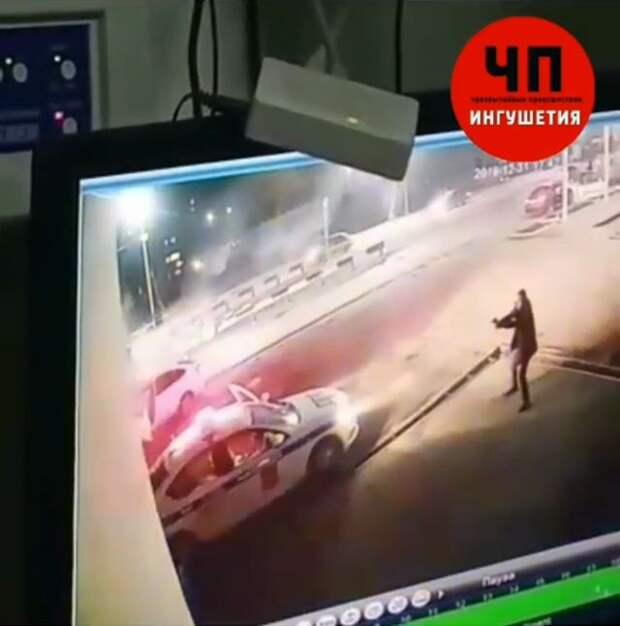 Пострадавших при нападении на пост ДПС в Магасе полицейских перевезут в Москву