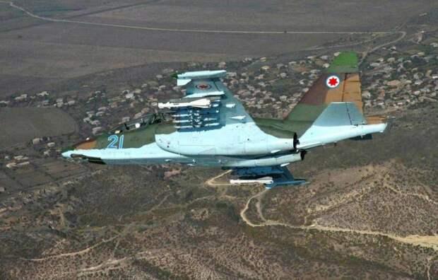 Грузия сумела самостоятельно модернизировать штурмовики Су-25