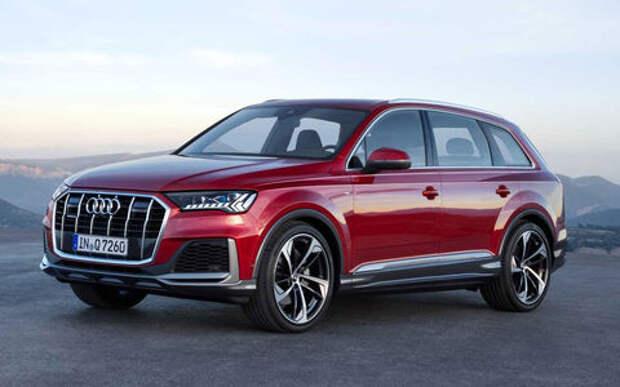 Обновленный Audi Q7 — мягкие гибриды и связь со светофорами